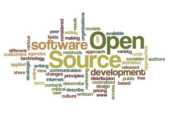 Open Source - Word Cloud